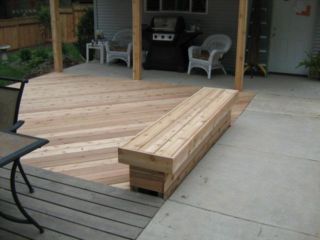 Cedar deck West Chicago il