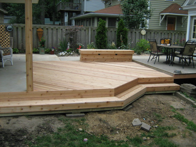 Cedar deck West Chicago il