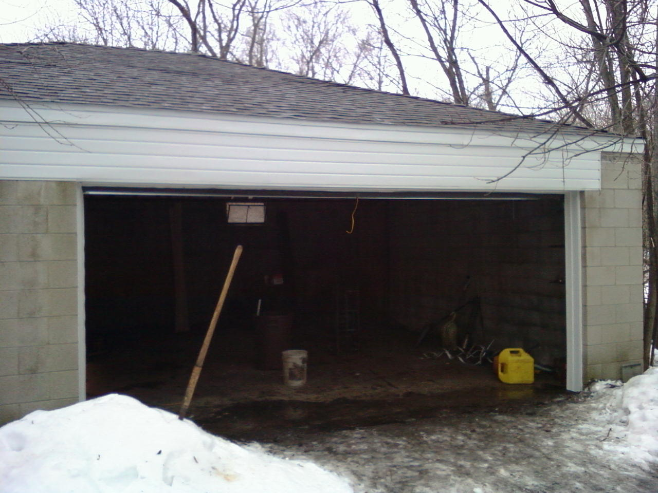 New garage roof Lisle