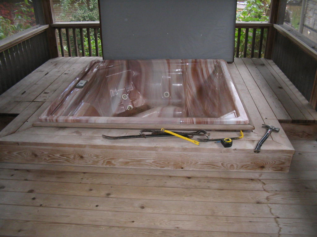 Spa Deck rebuild